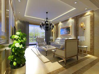 经济型100平米三室四厅现代简约风格客厅图片大全
