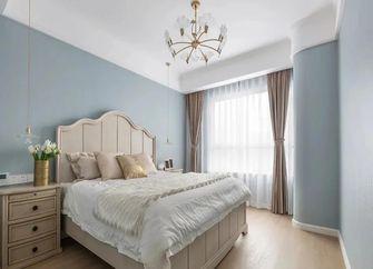 140平米三室一厅美式风格卧室欣赏图