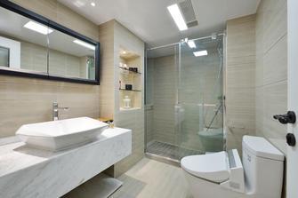 140平米三室两厅欧式风格卫生间设计图