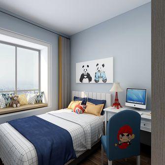 90平米三室两厅现代简约风格儿童房图片大全