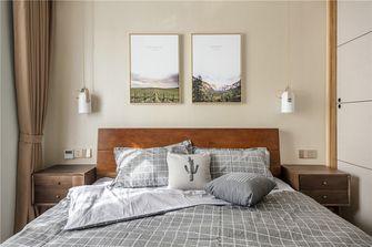 90平米三室一厅北欧风格卧室装修图片大全