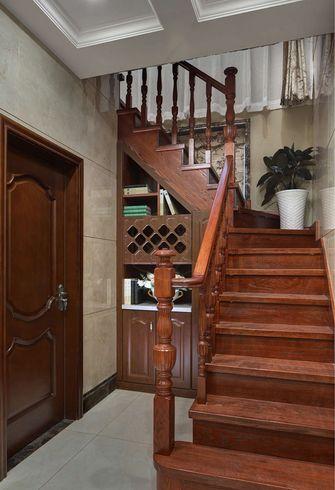 经济型140平米别墅中式风格楼梯欣赏图