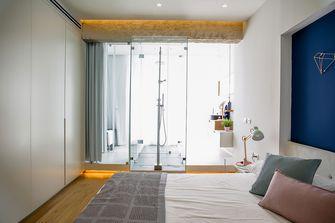 60平米一居室北欧风格卧室装修案例