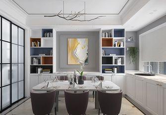 90平米三室三厅美式风格餐厅装修案例