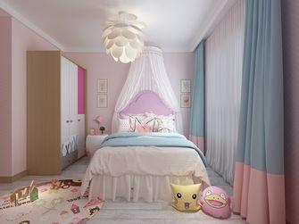120平米三室一厅欧式风格儿童房装修图片大全