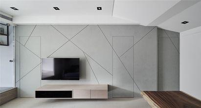 80平米混搭风格客厅图片