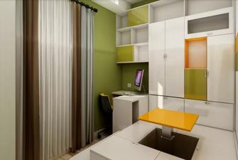 40平米小户型欧式风格储藏室欣赏图