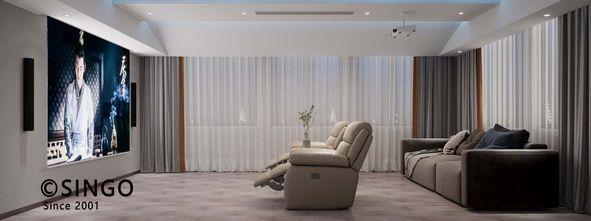 140平米四室两厅中式风格影音室装修图片大全