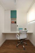 50平米一居室北欧风格书房图片