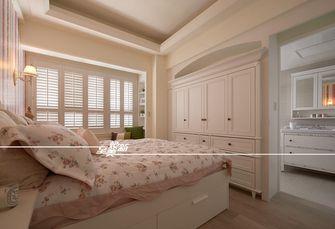 60平米三室一厅田园风格卧室图