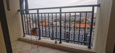 70平米公寓现代简约风格阳台装修图片大全