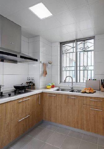 100平米三室两厅日式风格厨房设计图