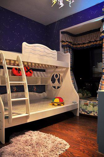 经济型90平米三室两厅地中海风格儿童房装修效果图