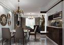 120平米三室两厅混搭风格餐厅图片