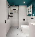 70平米三室一厅混搭风格卫生间图片