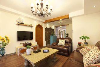 富裕型140平米四室一厅东南亚风格客厅图片