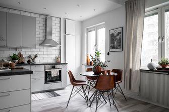80平米一居室其他风格餐厅设计图