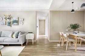 140平米三室兩廳北歐風格走廊裝修案例