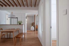 120平米三室一厅现代简约风格餐厅装修效果图