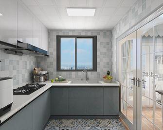 80平米三地中海风格厨房欣赏图