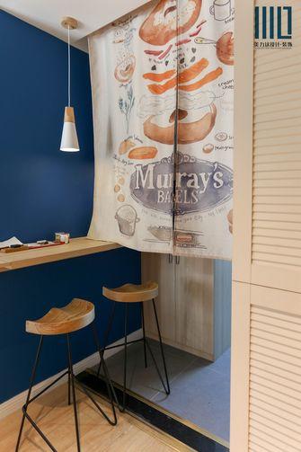 90平米一居室英伦风格餐厅装修效果图