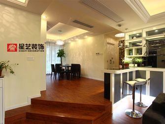 5-10万140平米三室两厅美式风格楼梯装修案例
