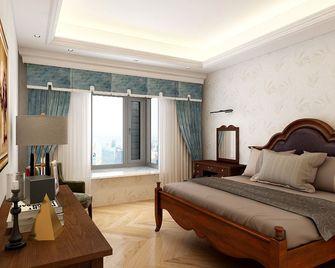 130平米四室一厅美式风格卧室装修案例