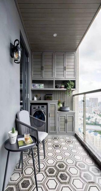 130平米复式美式风格阳台装修效果图