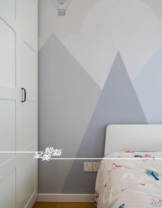 80平米三室三厅日式风格儿童房装修效果图