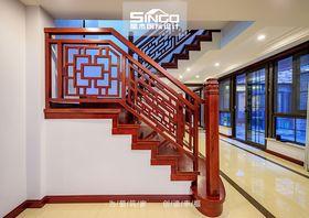 140平米别墅中式风格楼梯间家具图片