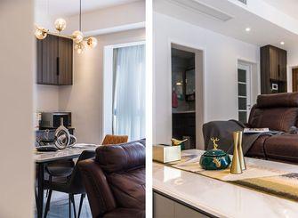 120平米四室两厅现代简约风格餐厅图