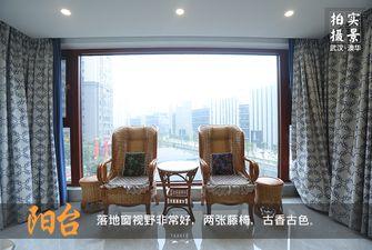 140平米四室两厅中式风格阳台图片大全
