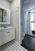 90平米欧式风格卫生间浴室柜图