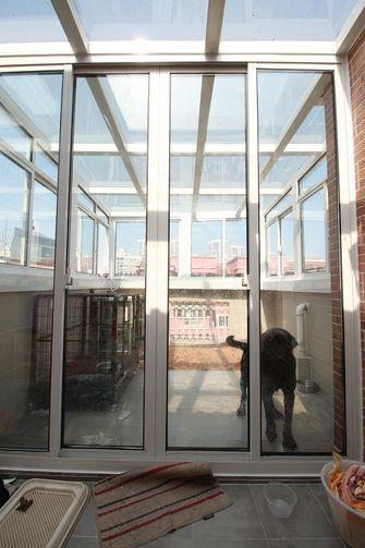 140平米复式美式风格阳光房图片大全
