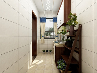 110平米三室两厅美式风格储藏室装修图片大全