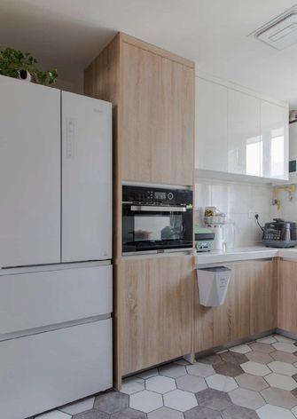 70平米三北欧风格厨房图