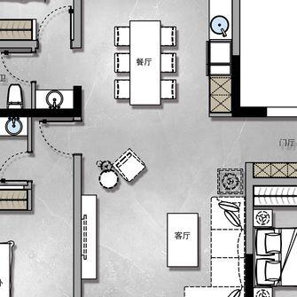 130平米三室两厅欧式风格阁楼装修图片大全
