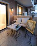 120平米三室一厅地中海风格阳台装修效果图