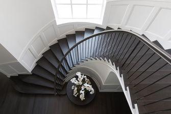 140平米一居室混搭风格楼梯间欣赏图