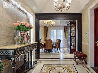 140平米三室两厅混搭风格玄关门口设计图