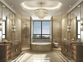 140平米別墅混搭風格衛生間裝修案例