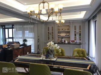 120平米三室一厅新古典风格餐厅图