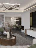 140平米四新古典风格餐厅图片大全
