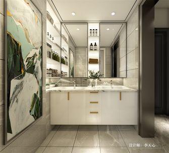 140平米四室两厅现代简约风格卫生间欣赏图