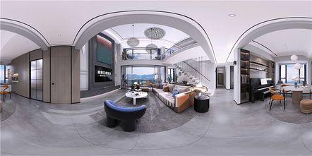 140平米复式其他风格客厅图