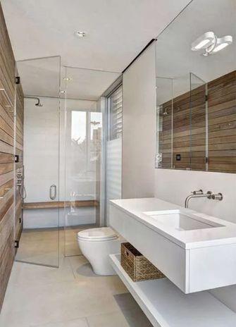 120平米三室一厅现代简约风格卫生间装修案例