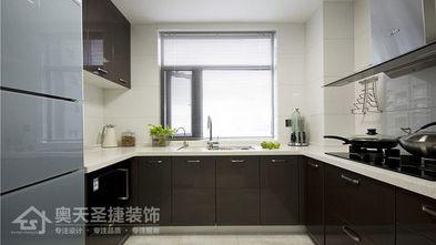 5-10万110平米三室一厅现代简约风格厨房效果图