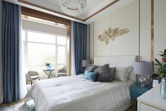 90平米三室一厅地中海风格卧室装修效果图
