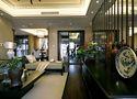 140平米三室一厅中式风格餐厅效果图