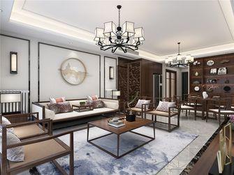 130平米四室三厅中式风格客厅图片大全